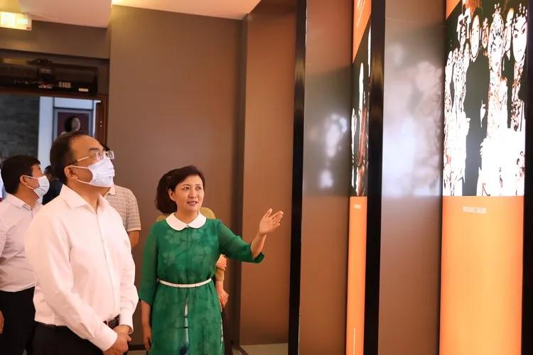 陕西省文化和旅游厅负责人赴易俗社文化街区调研考察